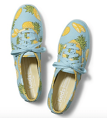 Champion Keds - Pineapple Print shoes
