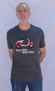 Camiseta t shirtmeup vespa