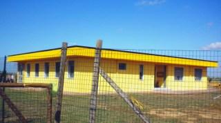 La struttura in via della Colmata a Guasticce che ospiterà la Scuola dell'Infanzia