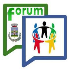 Il logo del Forum Comunale 2014
