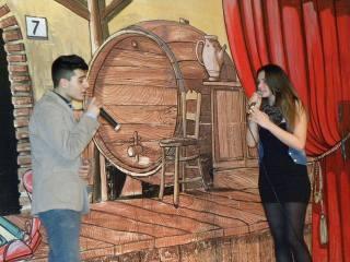 Marco Baldacci e Jessica Lanuto sul palco