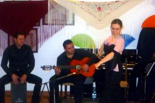 Alessandro Vannuccini, Davidè Cucciarrè e Francesca Angotti