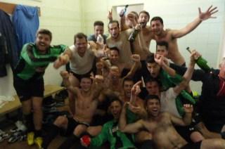 Il Collevica festeggia la vittoria del campionato