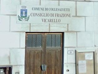 Sala Delle Colonne, sede del Consiglio di Frazione di Vicarello