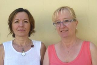 Marzia Frangioni e Laura Dell'Ira