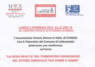 Conferenza femminicidio