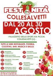 Locandina Festa de l'Unità Collesalvetti