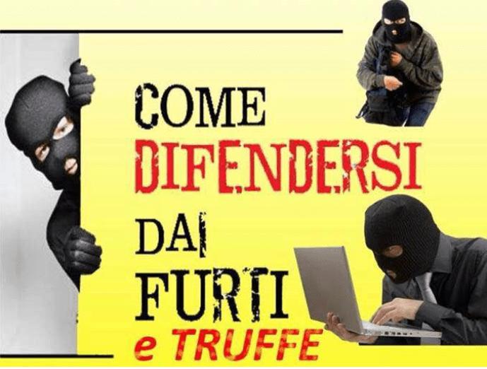COME DIFENDERSI DA FURTI E TRUFFE. A STAGNO I CONSIGLI UTILI DELLE FORZE DELL'ORDINE