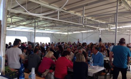 PRIMO MAGGIO A PARRANA SAN MARTINO: AFFLUENZA RECORD, BEN 240 PARTECIPANTI AL PRANZO