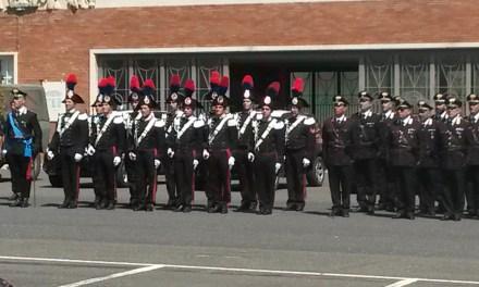 CARABINIERI IN FESTA PER IL 202° ANNIVERSARIO DELL'ARMA
