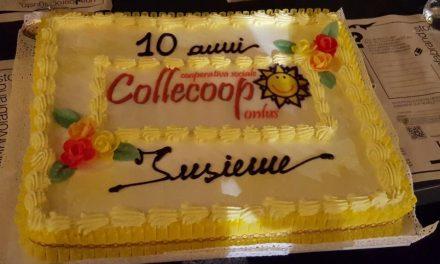 COLLECOOP FESTEGGIA I 10 ANNI DALLA FONDAZIONE