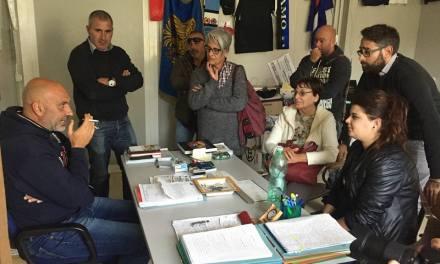 VICARELLO IN VISITA AD AMATRICE CONSEGNA QUASI 10.000 EURO