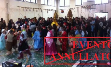 ANNULLATA LA FESTA DI CARNEVALE A STAGNO PER RISPETTO E VICINANZA ALLE FAMIGLIE COLPITE DAL TRAGICO LUTTO