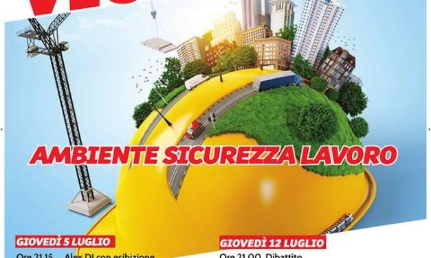 """AL VIA A VICARELLO LA """"FESTA DE L'UNITÀ 2018"""""""