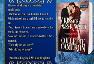 Collette Cameron historical romances, A Kiss for Miss Kingsley, Best Regency romance books, Historical romance books to read online, Regency historical romance ebooks, best regency romance novels 2017, Regency England dukes historical romance Kindle, Regency England historical romance Novels