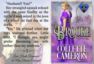 Collette Cameron historical romances, Brooke: Wagers Gone Awry, Best Regency romance books, Historical romance books to read online, Regency historical romance ebooks, best regency romance novels 2017, Regency England dukes historical romance Kindle, Regency England historical romance Novels