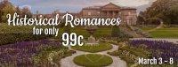 Historical Romance Sale!