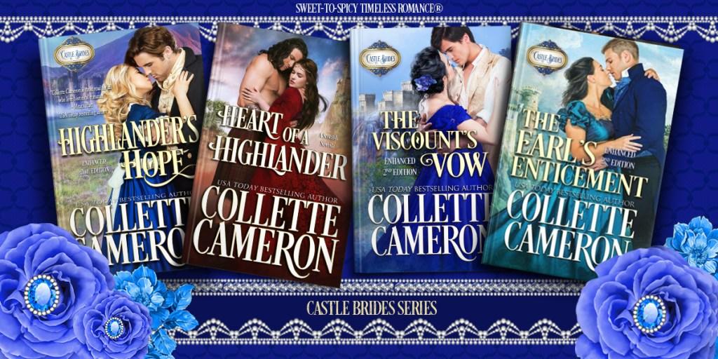 Castle Bride Series, Regency Romance novels, Scottish romance novels, Highlander romance Novels, best selling historical romances, regency romance lords,