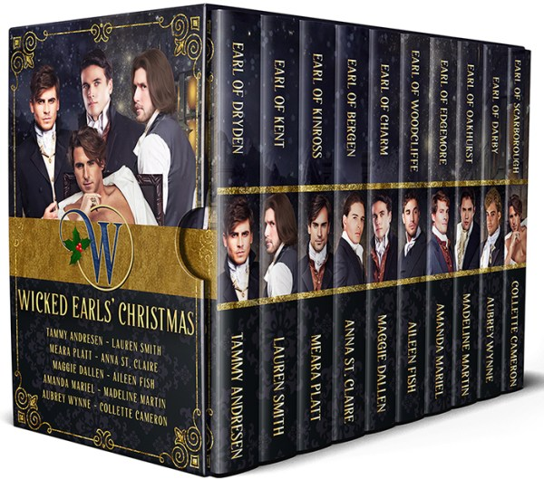 The Wicked Earls' Christmas is out! 1