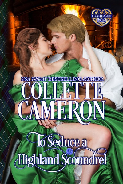 The rerelease of TO SEDUCE A HIGHLAND SCOUNDREL is here! 1