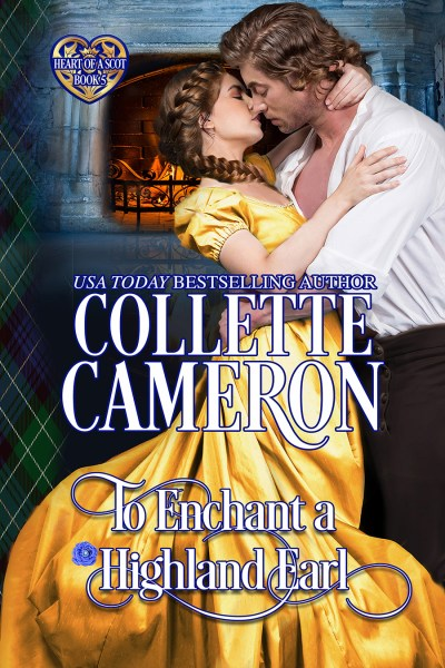 The rerelease of TO ENCHANT A HIGHLAND EARL is here! 1