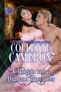 The rerelease of TO BARGAIN WITH A HIGHLAND BUCCANEER is here!