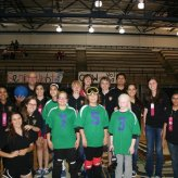 Colleyville Leo Club Supports Sports Extravaganza Goalball Team