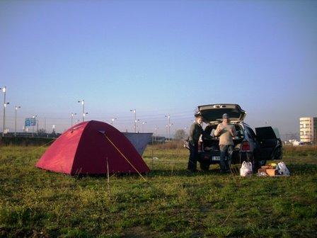camping, Granada, Spain, road trip, colliding cultures