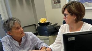 assisting a client
