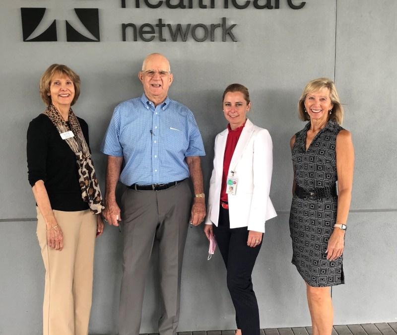 Scribner visits namesake office