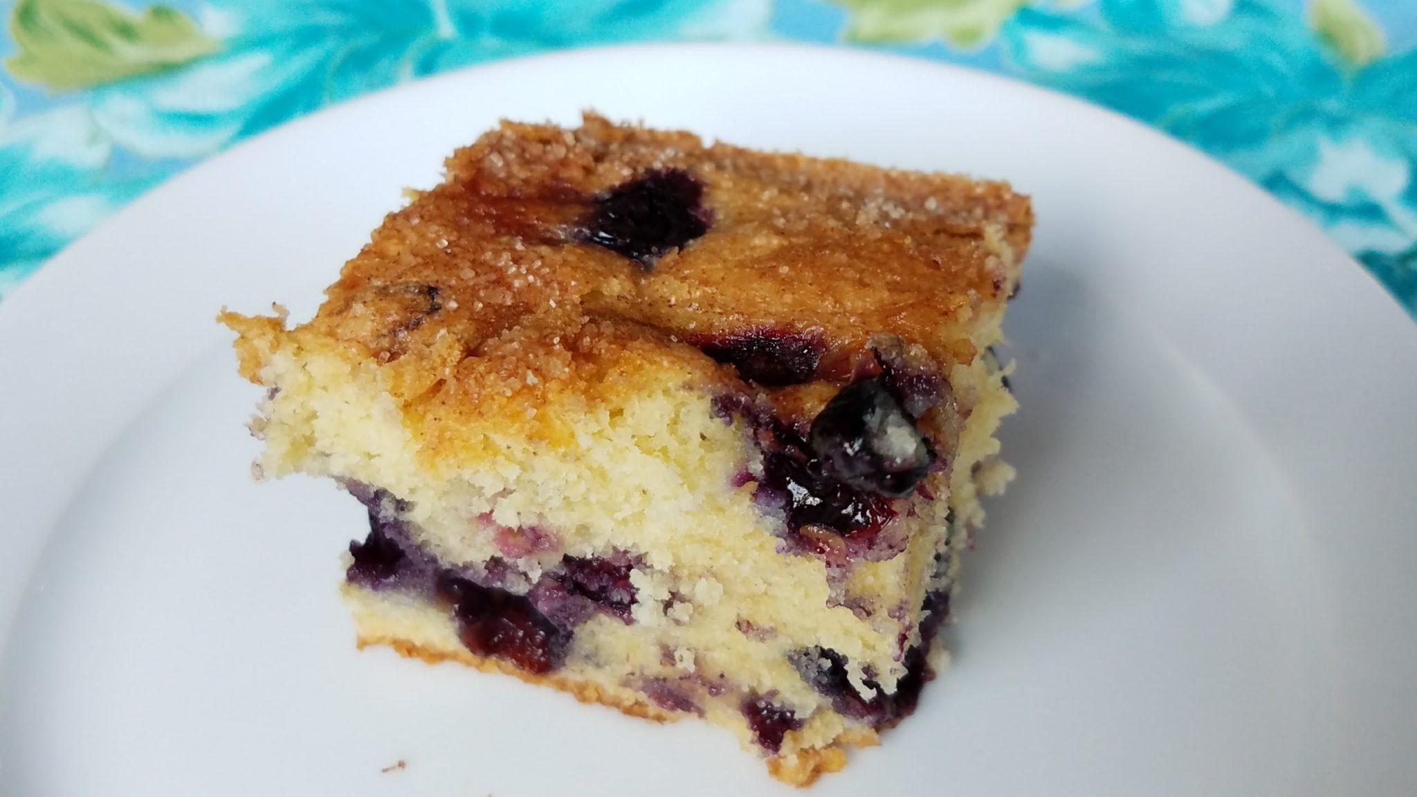 Blueberry Cake {gluten-free}