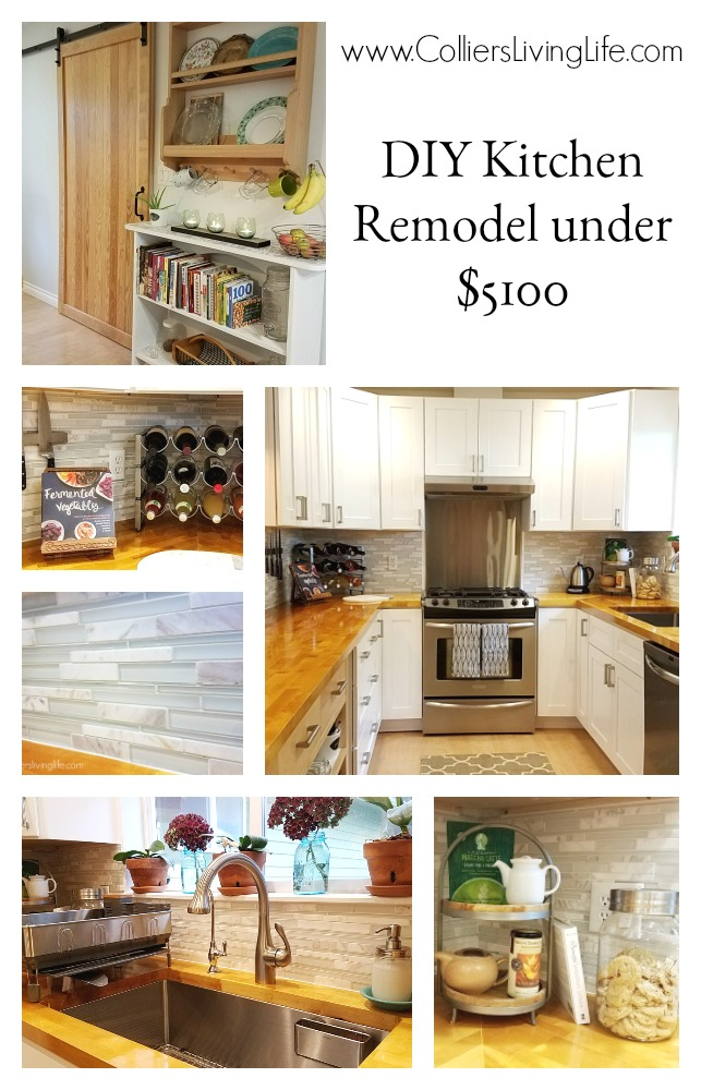 Colliers Living Life DIY Kitchen Remodel
