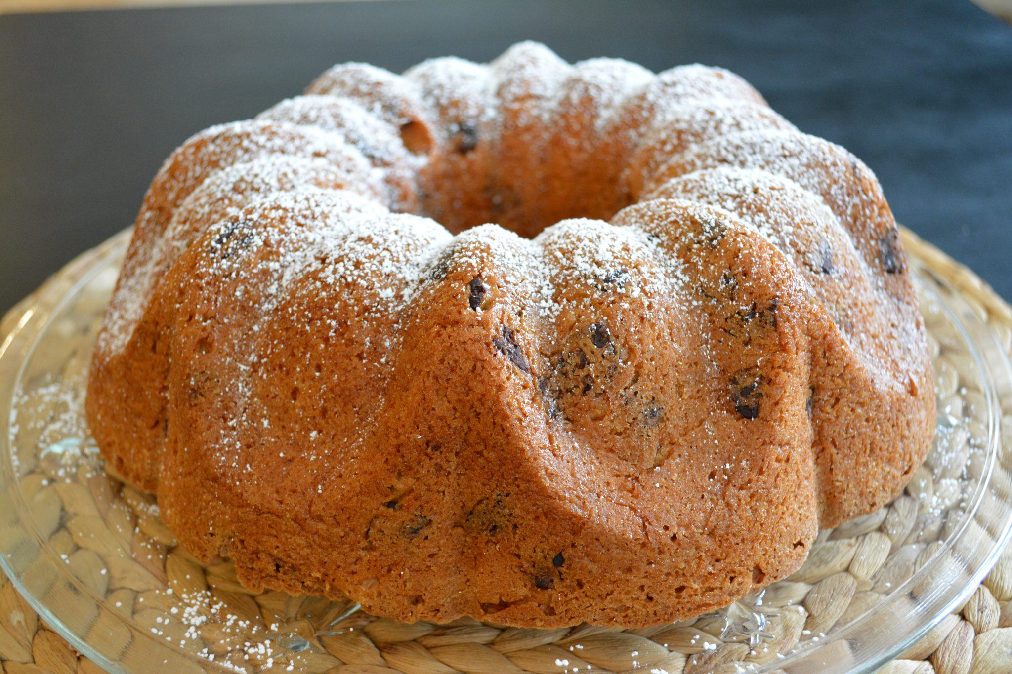 Gluten-free Orange Chocolate Chip Cake