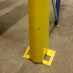 Collins Metal Fabrication Industrial 112 Metal Pallet Racking Safety Barrier