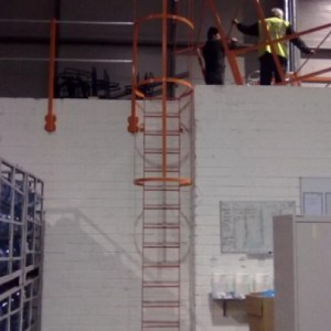 Collins Metal Fabrication Staircase 503 metal Staircase Fire Escape