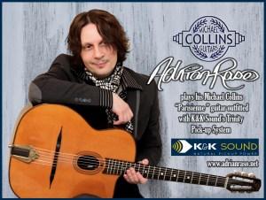 Collins Guitar Ad 12x8