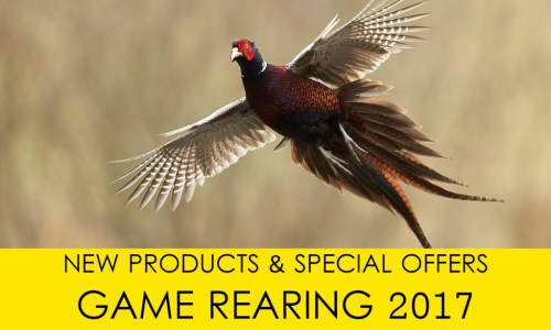Game Rearing: New Products Catalogue Mailed