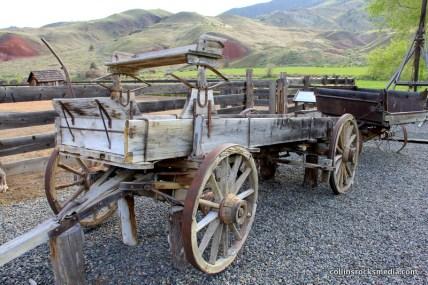 Ancient farm equipment