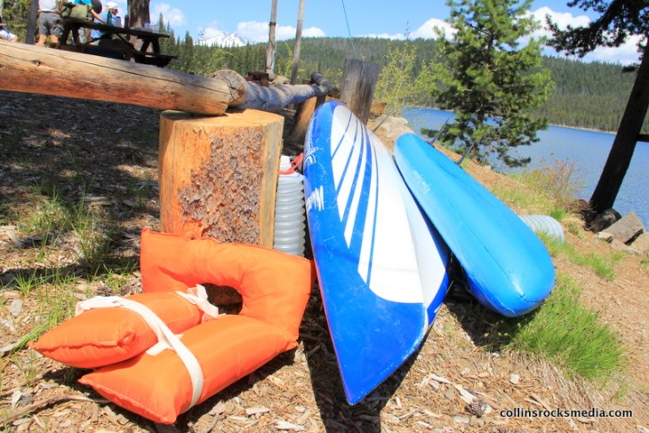 The half way point, Elk Lake Lodge