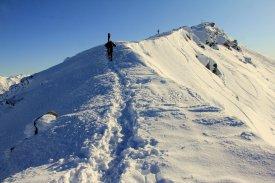 Louis approaching summit.