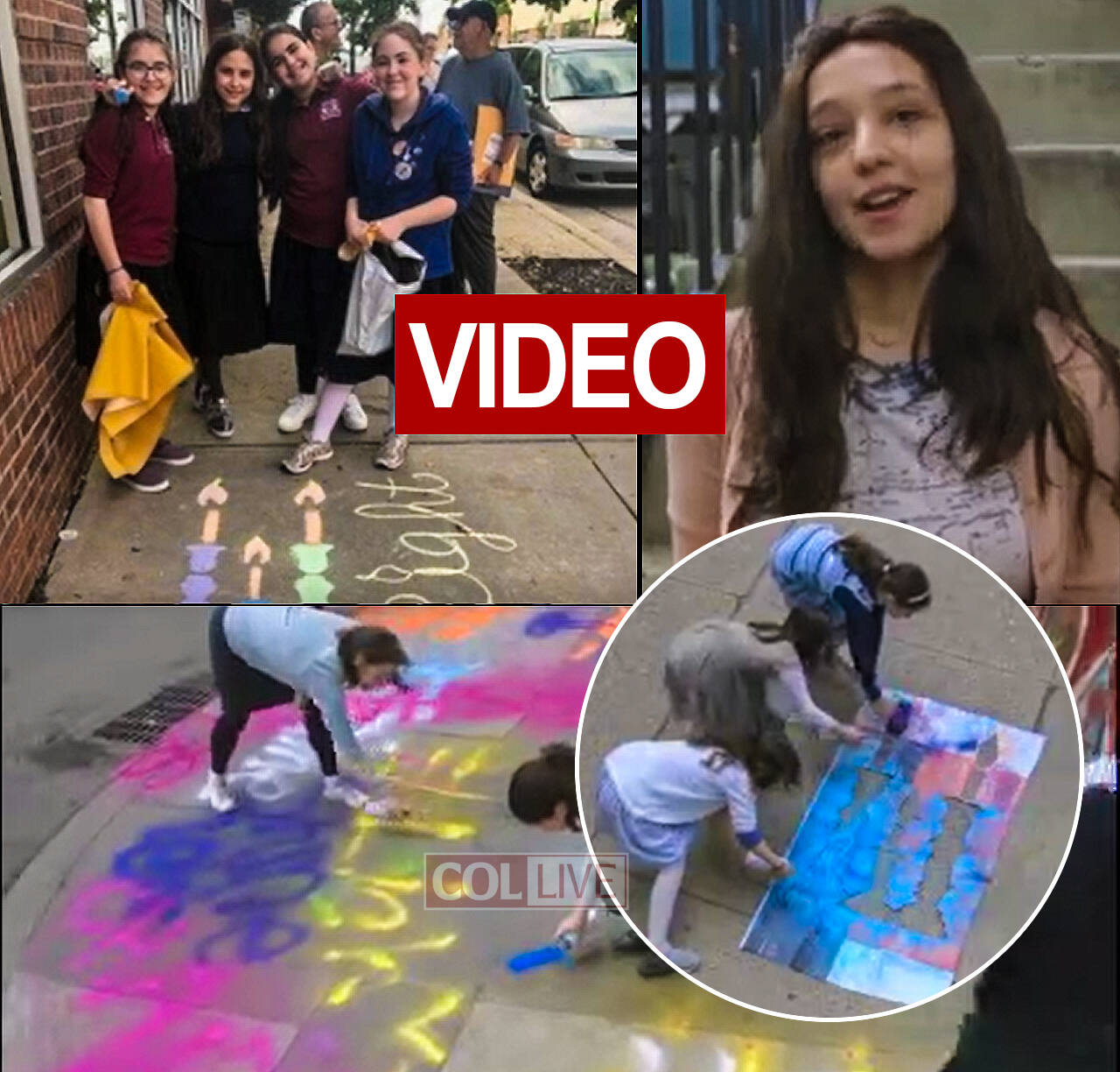 video how let s chalk shabbat began