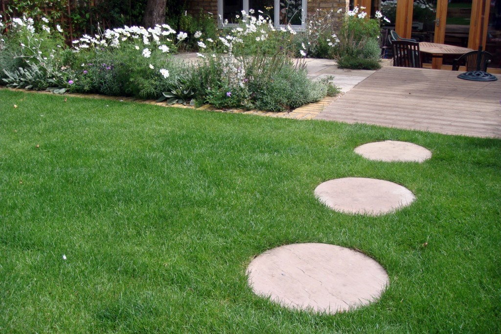 Landscaping Flat Stones