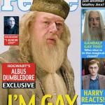 Dumbledore's a Cover Boy