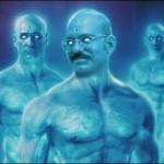 Dr. Manhattan As a Never-Nude