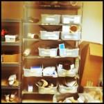 June 28: On The Shelf. Prosthetic legs in the making.