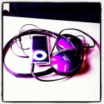 Day 10: Favorite Color. My iPod & headphones match.