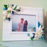 Day 25: Frame. The newest addition to our mantle: picture & frame to honor our 5 year dating anniversary :)