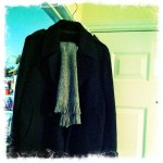 Day 30: Clothes. It's been so cold in Raleigh thanks to Hurricane Sandy that Jay busted out his winter jacket.