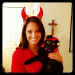 Day 31: Anything You Want. Happy Halloween from me and Zoe!