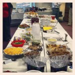Day 19: Something That Starts With 'S.' Smorgesboard! Christmas Party #6, the Finale: My office's Christmas lunch.